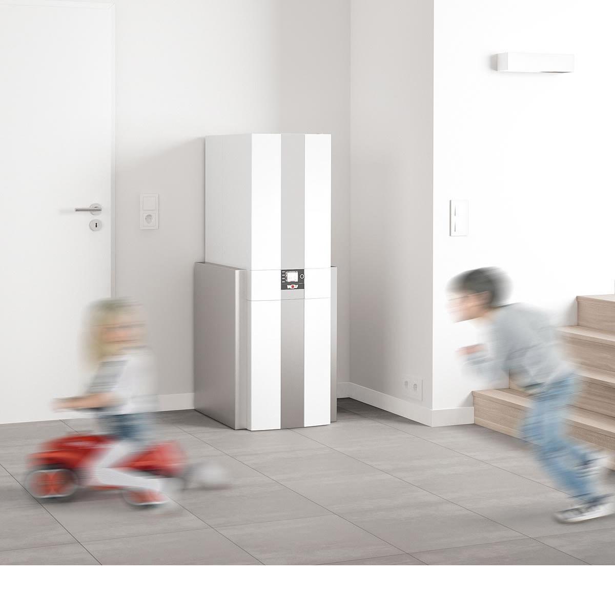 wolf gasbrennwert zentrale cgs 2 20 kw 160l optional mit bedienmodul bm 2 8615015 heizung. Black Bedroom Furniture Sets. Home Design Ideas