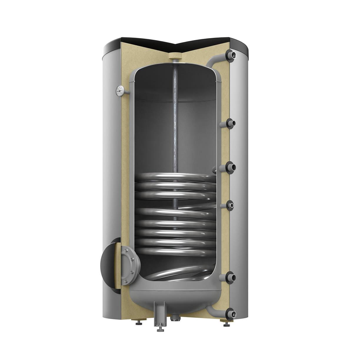 reflex warmwasser standspeicher typ sf400 farbe silber heizung. Black Bedroom Furniture Sets. Home Design Ideas