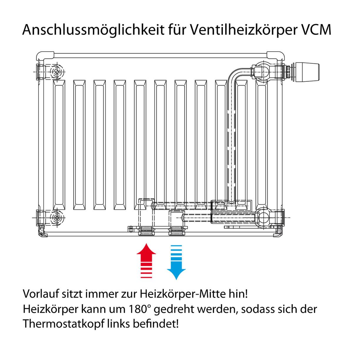 heizkörper thermostatkopf auf andere seite versetzen - haustechnikdialog