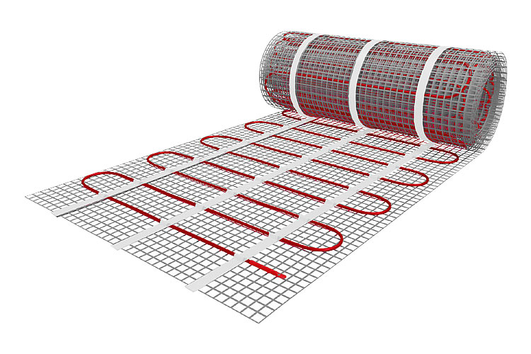 Fußboden Elektroheizung Bad ~ Elektro fußboden heizmatte m² l m b m