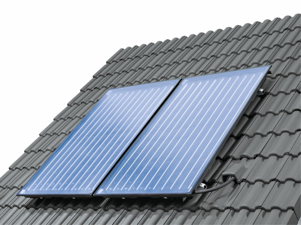 Buderus Solarpaket Logaplus S76 4 X Kollektoren Amp 750l
