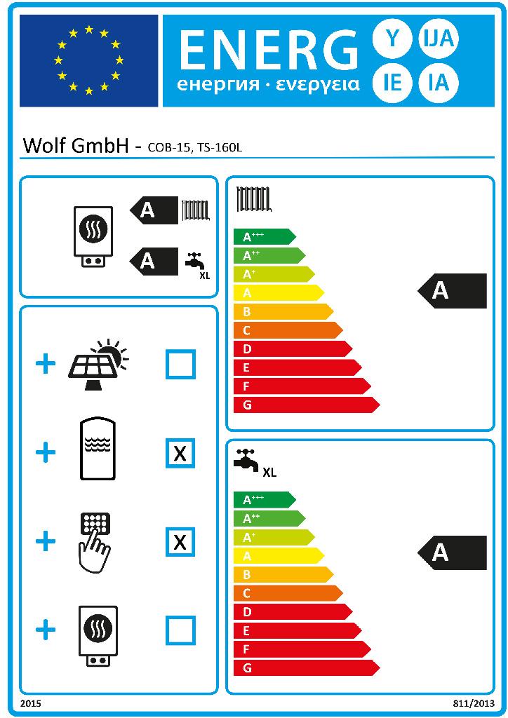 wolf cob 15 lbrennwertkessel paket mit speicher ts 160. Black Bedroom Furniture Sets. Home Design Ideas