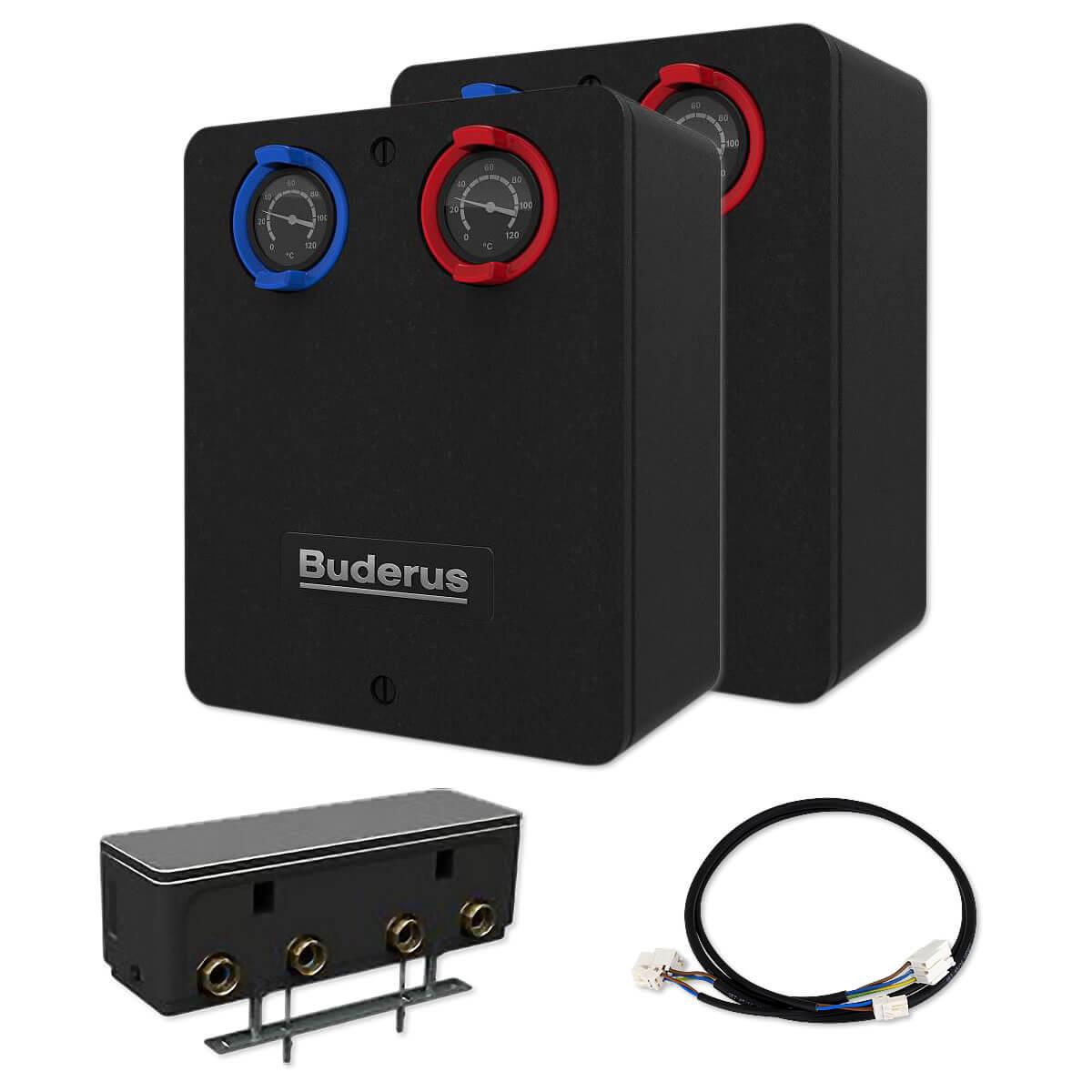 Buderus Heizkreispaket WE18.1 bis 15 kW mit 2 Heizkreisen ...