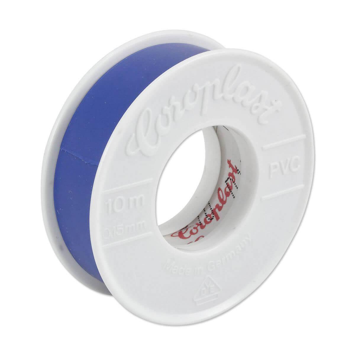 Coroplast PVC Elektro Isolierband blau Länge 10m Breite 15mm