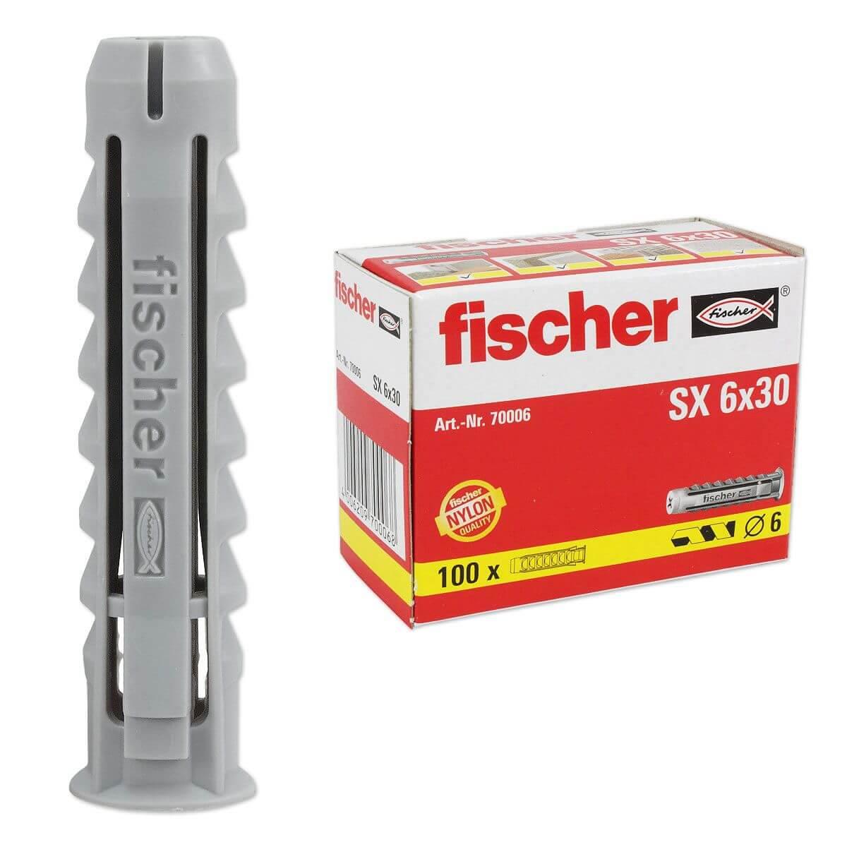 Fischer Sx Dübel : 100 stk fischer d bel sx 6 x 30 70006 installation ~ Buech-reservation.com Haus und Dekorationen