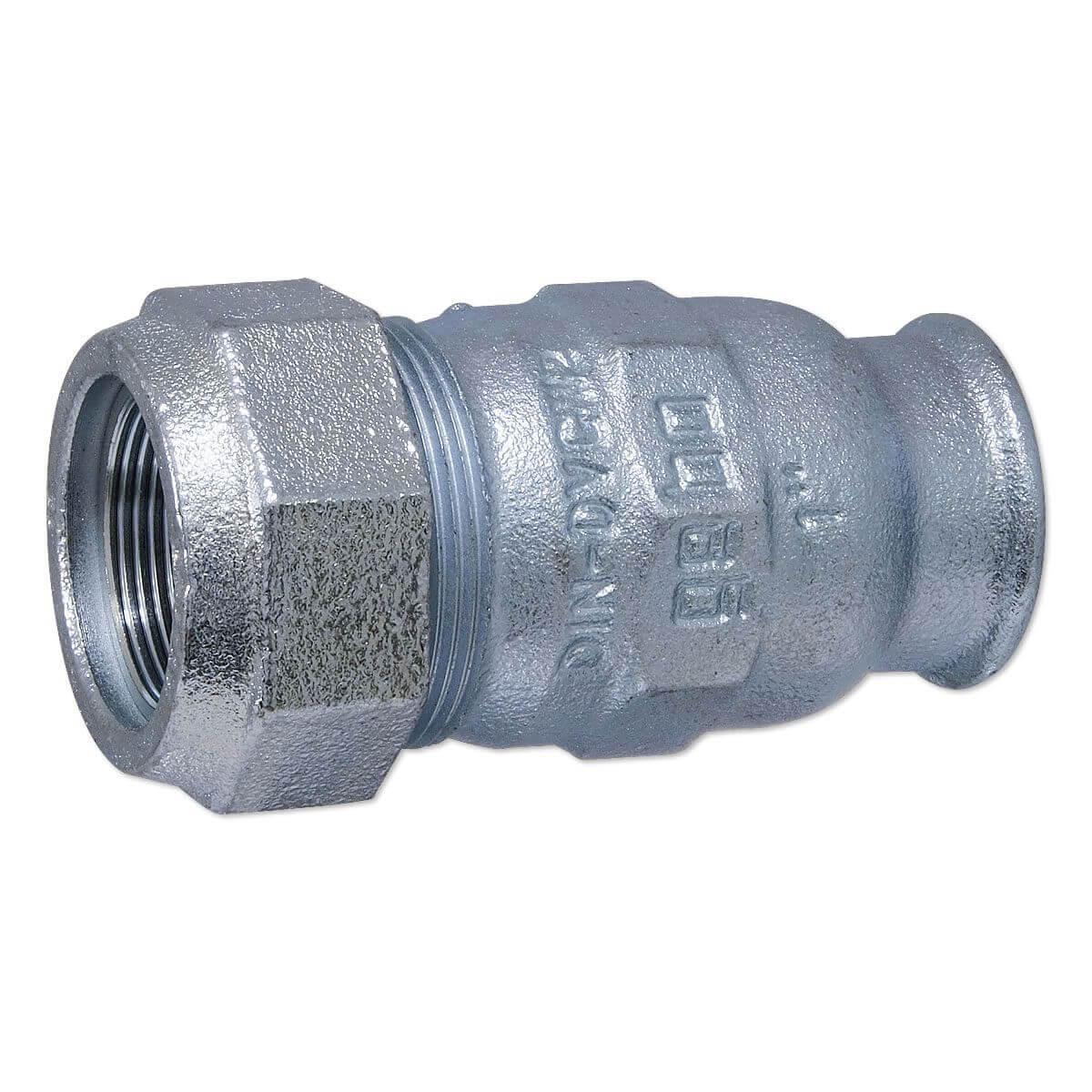 GEBO Kunststoff-Klemmverbinder T-Stück Mittelabgang reduziert DVGW geprüft