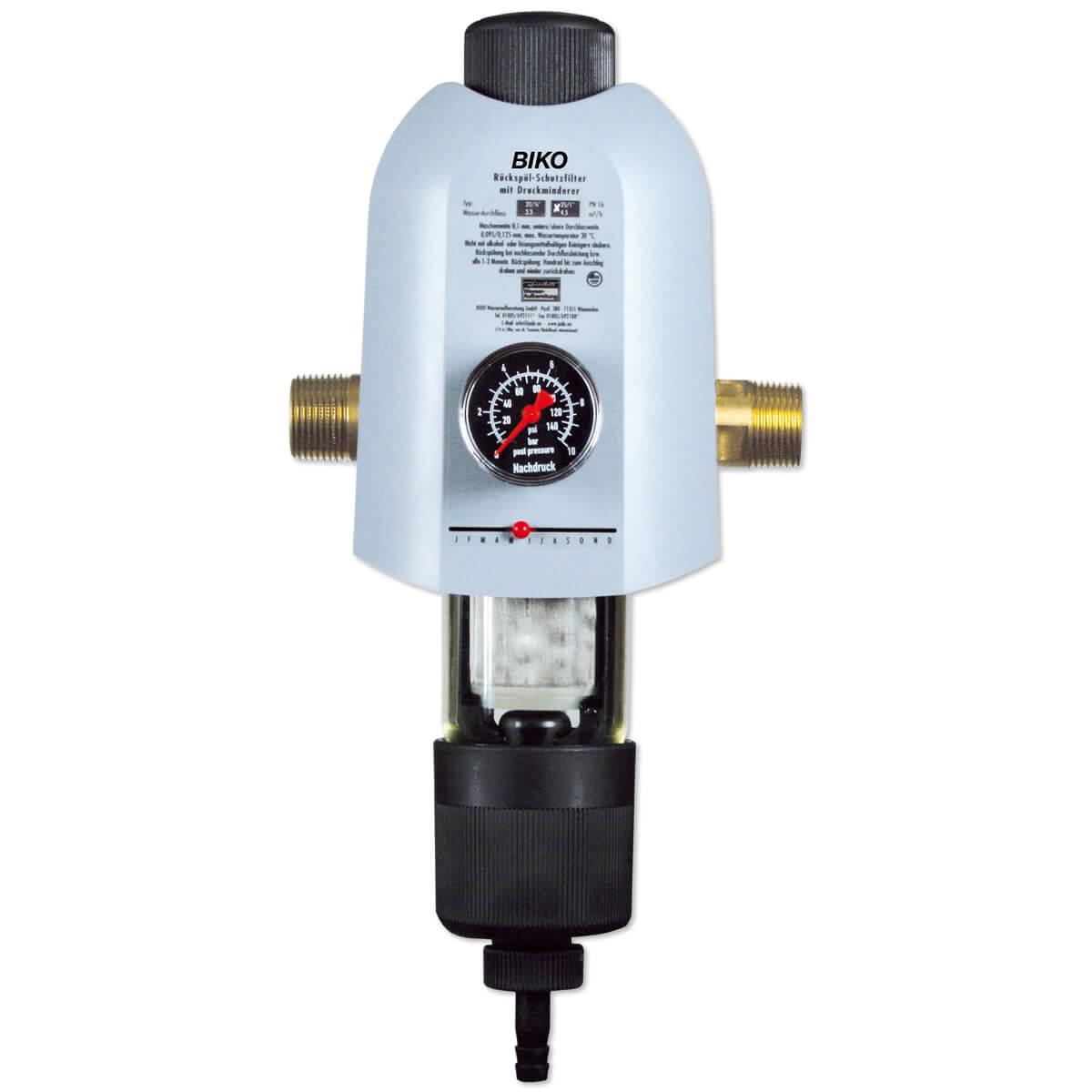 Häufig Hauswasserstation JUDO Biko mit Rückspülfilter, Druckminderer AM86