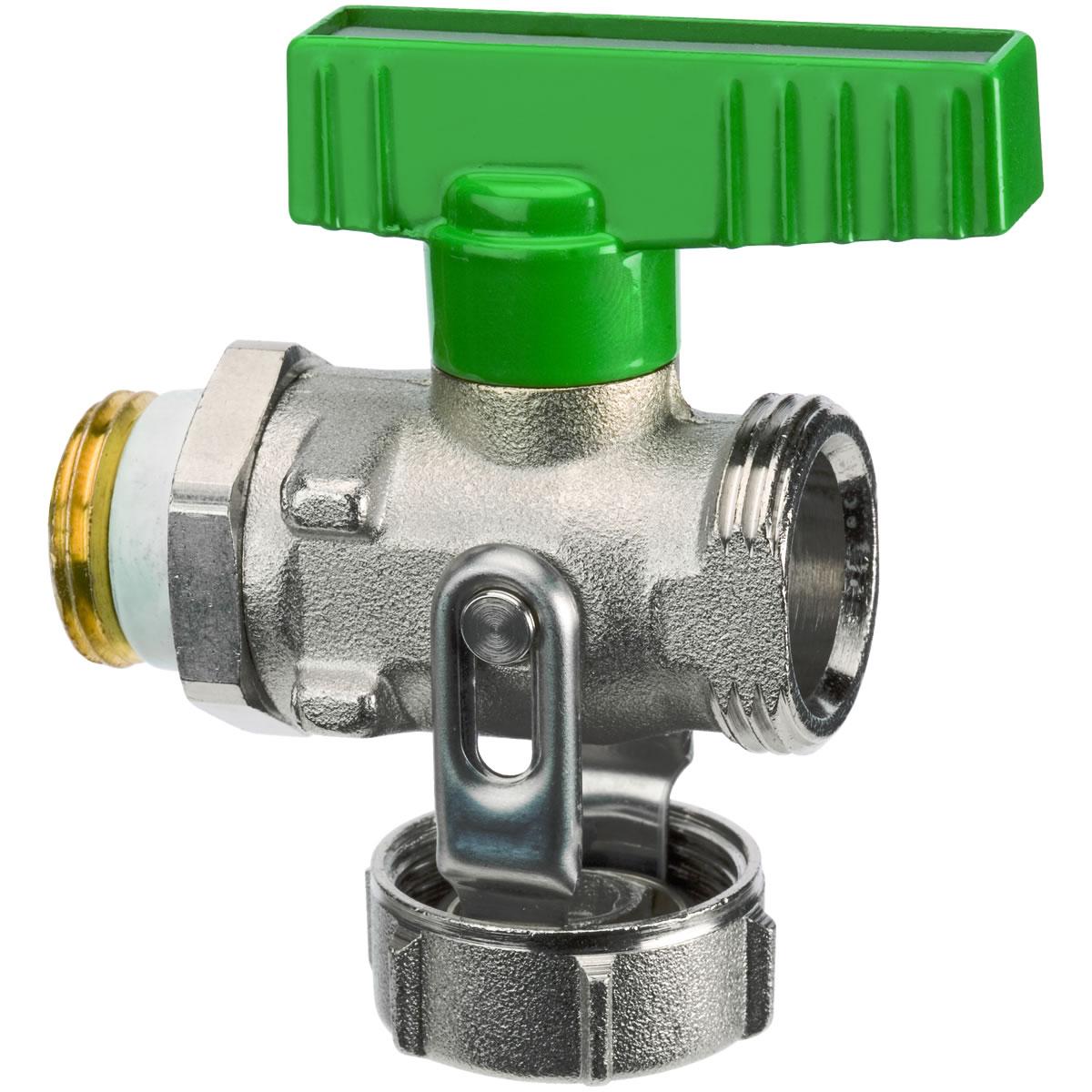 Extrem SIMPLEX KFE-Kugelhahn 1/2'' Durchgangsform für Trinkwasser QU77