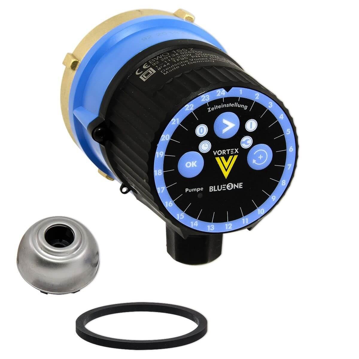 Vortex zirkulationspumpe mit zeitschaltuhr