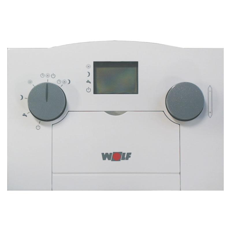 wolf analoger raumtemperaturregler art mit tagesprogramm 2733054 heizung. Black Bedroom Furniture Sets. Home Design Ideas