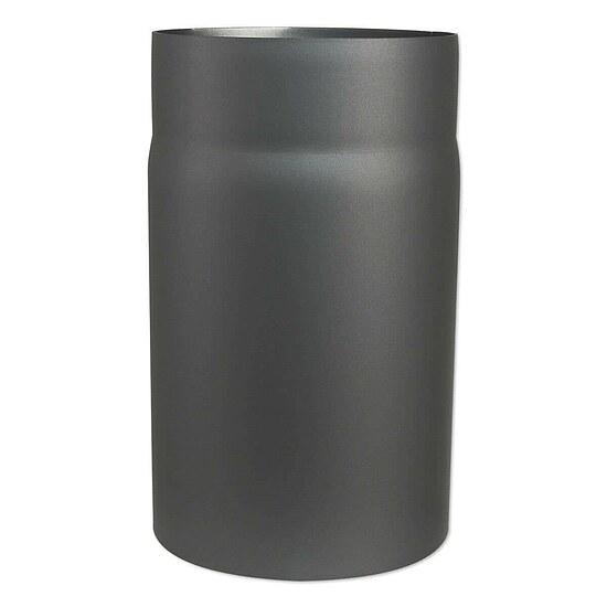 abgasrohr f r kaminofen l nge 250 mm 150 mm 80345010 heizung. Black Bedroom Furniture Sets. Home Design Ideas